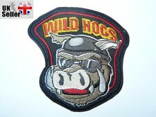 Wild Hogs Iron-on/sew-on Embroidered Patch Motorcycle Biker