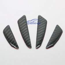 Real Carbon Fiber Car Side Door Edge Protection Guard Trim Sticker Fit For VW