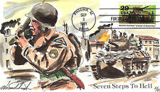 "WILD HORSE WWII ""SEVEN STEPS TO HELL""  WAR IN EUROPE ETO Sc 2559e"