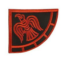 viking raven banner odin god of war embroidered embroidery sew iron on patch