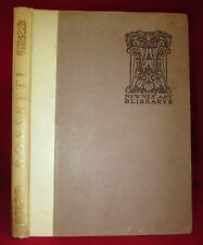 DANTE GABRIEL ROSSETTI Art TIPPED-IN PLATES Vintage 1920s SCARCE Illustrated