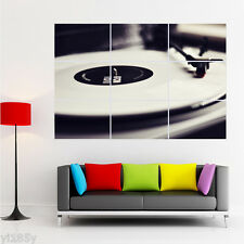Record Player Vinyl Turntable DJ Deck Poster Giant Large Print Huge Art yh3