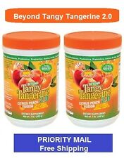Beyond Tangy Tangerine 2.0 Citrus Peach Fusion by Youngevity ~ 2-Pack  480 g ea.
