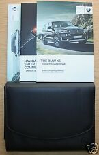 GENUINE BMW X5 F15 HANDBOOK NAVIGATION OWNERS MANUAL 2013-2015 PACK #1175