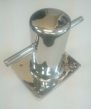 "Marine Single Cross Bollard 316 Stainless Steel for Boat 6"" 150 mm"