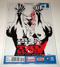 IRON FIST # 1  Marvel Comic  July 2014   NM   2nd PRINTING VARIANT COVER