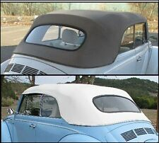 Volkswagen Beetle Convertible Top Plus Parts Package 1973-1979