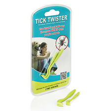 TICK TWISTER Remover Tool Easy Painless Removes Small Large Ticks Pets People