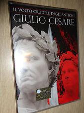 DVD  N° 1 IL VOLTO CRUDELE DEGLI ANTICHI GIULIO CESARE ITALIANO ENGLISH