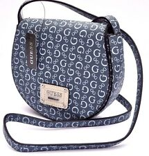 NWT GUESS HIGHWAY MINI CROSS BODY Handbag BAG Messenger Jeans BOOTS G Sign