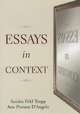 Essays in Context (2000, Paperback) by Tropp and D'Angelo