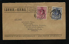 Swaziland  31,33  on  official  cover  to  England       SR0310
