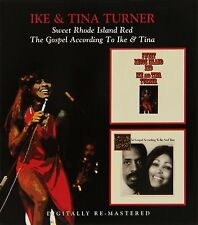Ike & Tina Turner Sweet Rhode Island Red/The Gospel According To CD NEW SEALED