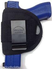 Beretta Nano | IWB SOB Inside Waistband Gun Holster | Pro-Tech Black Nylon WIP-M