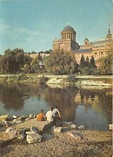 B28759 Esztergom the Danube with the Primate palace hungary