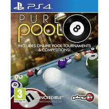 Pure Pool PS4 Game Brand New