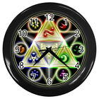 "The Legend of Zelda Round Large Wall Clock (Black) size 10"" Collection Gifts New"