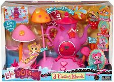 Lalaloopsy Mini Lala-Oopsies Playset - Spins and Sprays! - 3 Floating Islands