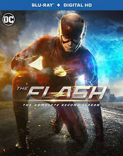 The Flash : Complete Season 2 ( Blu-ray + Digital HD, 2016 ,4-Disc w/ slipcover)