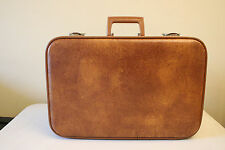 Small Vintage Brown Suitcase In Great Condition