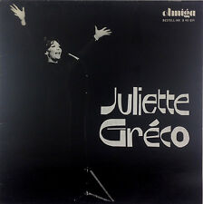 "12"" LP - Juliette Gréco - Juliette Gréco - k3412 - washed & cleaned"
