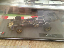F.1 MAGAZINE MODEL - 1972 LOTUS 72D - EMERSON FITTIPALDI - NICE FINISH