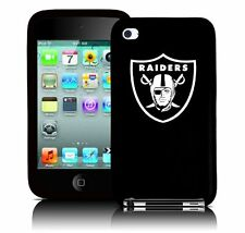 NFL Oakland Raiders  Apple Ipod Touch 4  Generation Silicone License