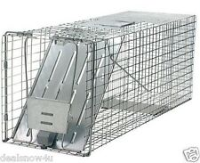 Havahart Live Animal Raccoon Groundhog Opossum Stray Cat Trap Catch Release Cage