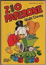 Carl Barks  ZIO PAPERONE  N. 4  Mondadori 1988 originale