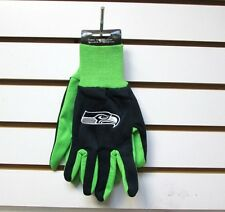 BRAND NEW  NFL SEATTLE SEAHAWKS  EMBROIDERED TEAM WORK SPORT UTILITY GLOVES