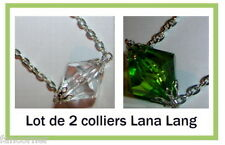 Smallville lot de 2 colliers lana lang Smallville lana lang's necklace lot