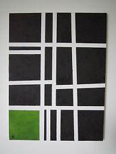 'STASIS' Original Contemporary Abstract Linear  Acrylic Canvas(Artist signed)