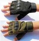 fingerlose Handschuhe ohne Finger Halbfinger Biker Bike Fahrrad fingerless glove