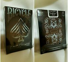 BICYCLE PLATINUM limited edition deck playing cards