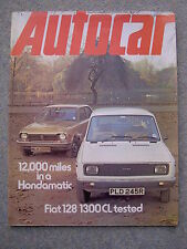 Autocar (18 Dec 1976) Fiat 128 1300, Honda Civic,VW diesel engine,Alvis Speed 25