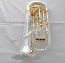 Professional QUALITY Compensating Euphonium New Silver Horn Trigger Key in Stock