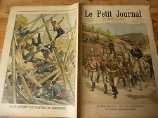 PETIT JOURNAL- 1899 N° 467 - TRANSVAAL : prisonniers anglais /accident chantier