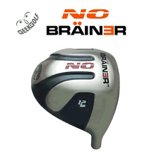 LOW LOFT! GEEK GOLF NO BRAINER GREY WORLD LONG DRIVE PGA DISTANCE DRIVER HEAD