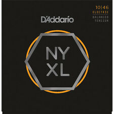 D'Addario NYXL1046BT Balanced Tension Reg Light Electric Guitar Strings  10-46