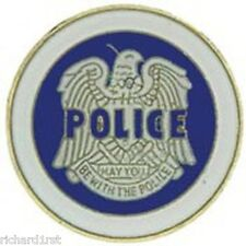 Hat Lapel Tie Tac Push Pin Police insignia NEW