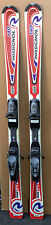 140 cm Rossignol Edge skis/bindings + size 7 womens ski boots + poles