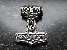 Thor s Hammer 925'er plata + remolque colgante vikingo/ka 083