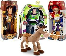 Disney Toy Story TALKING Woody Jessie Buzz Lightyear figure Bullseye plush doll