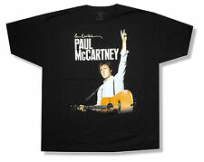 "PAUL MCCARTNEY ""ON THE RUN VANCOUVER"" 2012 BLK T-SHIRT BEATLES NEW OFFICIAL 2XL"