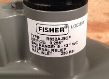 Fisher Propane Integral Two Stage Regulator R632A-Bcf with Pol x 12 Tank Adapter