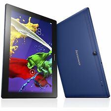Lenovo Tab 2 A10-30 10.1 Inch 1.3GHz 2GB 16GB Android 5.1 Wi-Fi Tablet - Blue