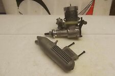 OS MAX FP 25 RC AIRPLANE ENGINE WITH MUFFLER  FREE SHIP USA