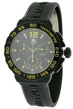 Tag Heuer Formula 1 Rubber Chronograph Men's Watch CAU111E.FT6024