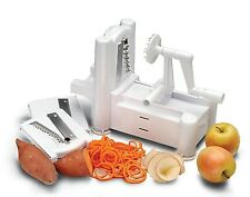 Spiral Vegetable Slicer Spiralizer Veggie Pasta Maker Fruit Chopper Shredde