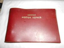 NEWNES MOTOR REPAIR POCKET SERVICE GUIDE
